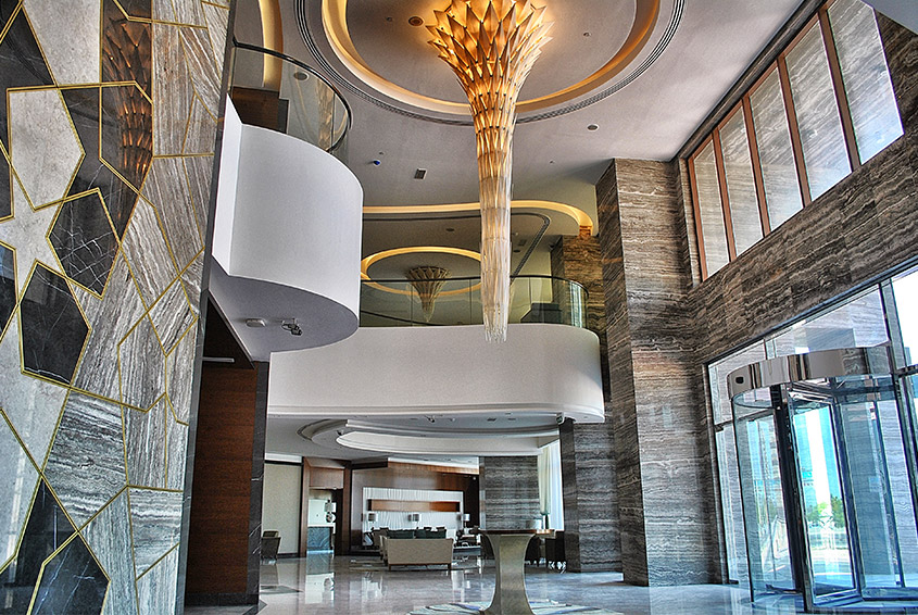 Hotel apartments in Dubai, Lavender Hotel Al Nahda-Welcome Lobby